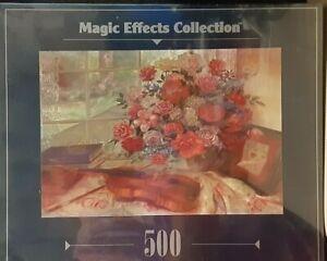 "RoseArt Magic Effects Collection ""Grandpa's Violin"" Jigsaw Puzzle NIB"