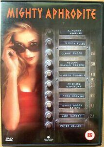 Mighty Aphrodite DVD 1995 Oscar-Winning Comedy w/ Woody Allen and Mira Sorvino