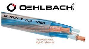 OEHLBACH Bi-Tech 4 M / Bi-Wiring Lautsprecherkabel der High-End-Klasse /1080 Neu