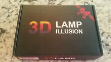 3D Lamp Illusion - Baseball Night Light New Battery Operated Usb Touch switch