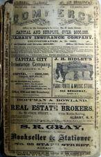 1870 Albany New York City Directory