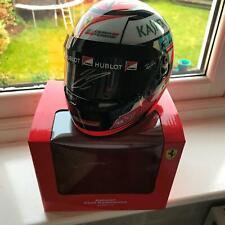 1/2 Scale Helmet signed by Kimi Raikkonen Ferrari formula 1