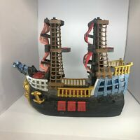 Fisher Price 2006 Mattel Imaginext Adventures Pirate Ship w/ Pirate Cannon