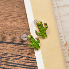 1 Pair Cactus Stud Earrings Ear Studs Women Casual Party Jewellery Novelty Gifts