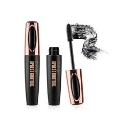 Waterproof Magic 4D Silk Fiber Eyelash Mascara Extension Long Lasting Eye Lashes