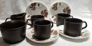 J&G Meakin Maidstone Whispering 4 Cup Coffee Set c1962-70 Made in England