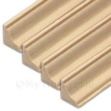 4 x miniatura per casa delle bambole 45cm legno cornice / MODANATURA (stile 5)
