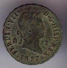 Cincin19,Preciosos 2  mrvds Segovia,Fernando VII,1827