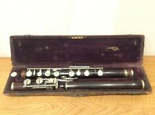 More details for douglas and co cased rosewood flute sold as seen available worldwide
