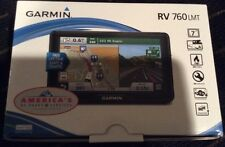 "Garmin RV 760LMT GPS Vehicle Navigation System 7"" Wide Touchscreen"