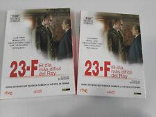 23-F EL DIA MAS LARGO DEL REY 2 X DVD SERIE TV COMPLETA LLUIS HOMAR SILVIA QUER