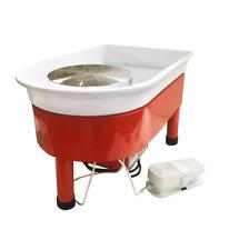 110V Speed Adjustable Electric Pottery Wheel Ceramic Machine Foot Pedal Ceramic