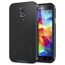 Neo Hybrid Slim Bumper Case for Samsung Galaxy S5 Screen Protector Metal Slate