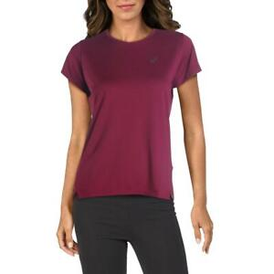 Asics Womens Fitness Workout Tee T-Shirt Athletic BHFO 3078