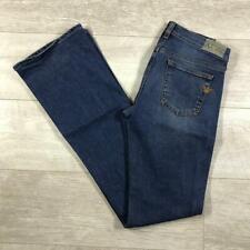 "Womens ARMANI JEANS 26""W 34""L Blue Stonewashed Bootcut Designer Jeans #F3539"