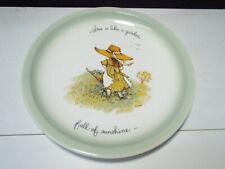 Holly Hobbie Plate ~ Full of Sunshine