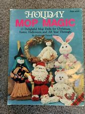 "Craft Book ""Holiday Mop Magic"""