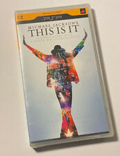 "PSP PLAY STATION MOVIES MICHAEL JACKSON'S ""THIS IS IT"" RARE ITALY EDITION SEALED"