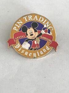 Disney Pins DLR Annual Passholder Pin Trading Pin
