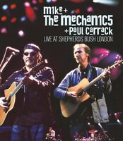 MIKE & THE MECHANICS with PAUL CARRACK - LIVE AT SHEPHERDS BUSH LONDON DVD *NEW*