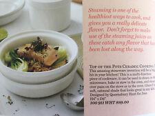Ceramic Steamer by Jamie Oliver.  Brand New in the Box.