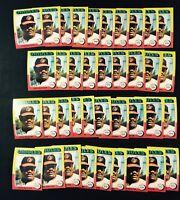 Lot Of 35 1975 Topps Don Baylor Baseball Card # 382  SP40
