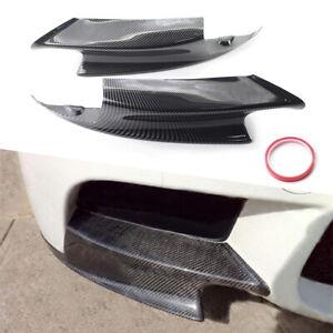Carbon Fiber Look Front Bumper Splitters Lip For BMW E92 M3 2008-2013 2012 2011