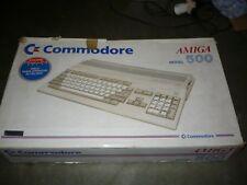 Commodore amiga 500 con espansione e scatola e tutto