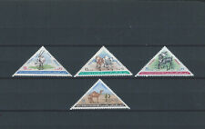 Middle East Yemen PDR stamp set - triangles - fauna - camel