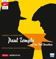 FRANCIS DURBRIDGE - PAUL TEMPLE UND DER FALL JONATHAN   MP3 CD NEW