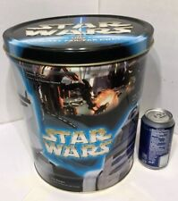 Star Wars Limited Series Heroes Large Collector Frito Lay Tin R2-D2 C-3PO Luke