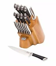 Chicago Cutlery Knife Block Sets Fusion Forged 18 Piece Stainless Steel