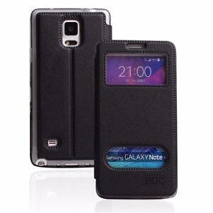 Klapptasche für Samsung Galaxy S6 S7 iPhone 7 Huawei LG Case Tasche 2 Fenster