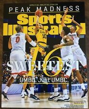 UMBC RETRIEVERS BASKETBALL UPSET 3/24/18 COVER SI SPORTS ILLUSTRATED 8X10 PHOTO
