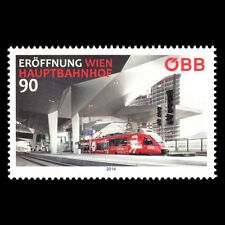 Austria 2014 - Opening of the Vienna Central Station Train Transport - MNH
