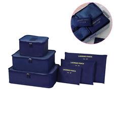 6 Stück Kleidung Unterwäsche Verpackung Lagerung Reisegepäck Organizer Tasche DE