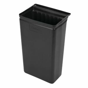 Cambro Trash Container in Black Polypropylene - Hygienic - 560 x 330 x 240 mm
