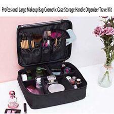 Cosmetic Women Make up Bags Travel Portable Organizer Brush Holder Storage Case