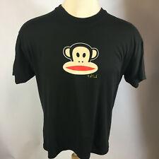 Vintage Paul Frank Tee Shirt Black With Julius The Monkey Logo Surf Skate Animal