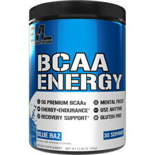 Evlution Nutrition BCAA Energy, Amino Acids for Muscle Building and Recovery