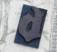 "letter: b  blackletter wood type 3.54"" woodtype font letterpress printing block"