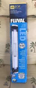 """Fluval Ultra Bright LED Strip Light 24""""- 36"""", 14 W,  58 LEDs, 1100 Lumens, 7500K"""