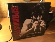 BRUCE SPRINGSTEEN Glory Days 50 Years of Dreaming Hardback Book & 4 DVD Set NEW