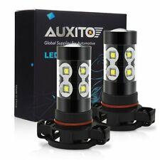 2x 50W CREE 5202 H16 HID White LED Bulbs Fog Driving Daytime Running Light AA