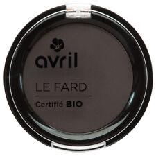 Fard a sourcils Chatain clair Certifie Bio Vegan Naturel Cosmetique AVRIL