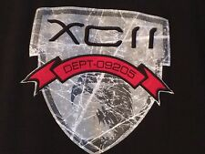 FUBU-XCII DEPT-09205 Black Short Sleeve T-shirt-Men's Size: XL