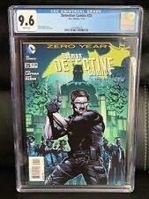 Batman Detective Comics #25 CGC 9.6 (DC New 52 2014) Fabok Cover, New Slab NM+