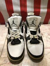Nike Air Jordan 4 IV Fusion White  black Air Force AF1 AJF4 size 10.5 317742