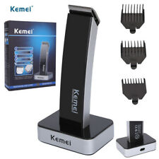 Electric Hair Beard Trimmer Clipper Rechargeable Haircut Cutting Machine UK Plug