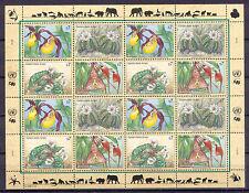 Pflanzen, Orchideen, Gefährdete Arten - Uno-Wien - 1 KB ** MNH 1996